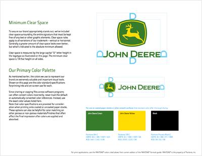 - John Deere Colors - Hex, RGB, CMYK, Pantone Color Codes - U.S. Brand  Colors