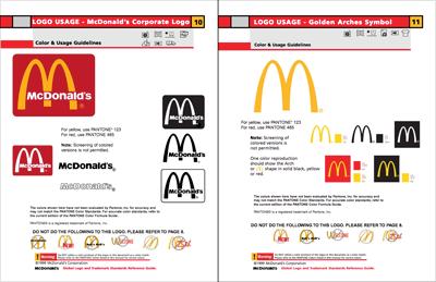 McDonald's Colors - Hex, RGB, CMYK, Pantone | Color Codes